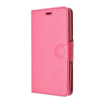Pouzdro typu kniha FIXED s gelovou vaničkou pro Samsung Galaxy J5, růžové