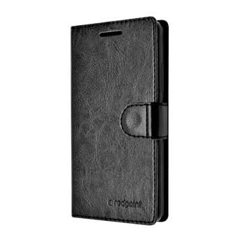 Pouzdro typu kniha FIXED FIT pro Huawei P8, černé