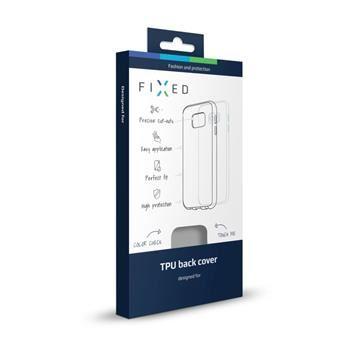 TPU gelové pouzdro FIXED pro Huawei P9, kouřové