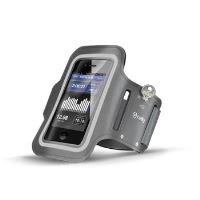 Sportovní neoprénové pouzdro CELLY, velikost XXL pro Samsung Galaxy S4 a telefony podobných rozměrů, šedé,rozbaleno