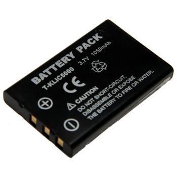 Baterie Extreme Energy typ Kodak KLIC-5000, Li-Ion 1050 mAh, černá