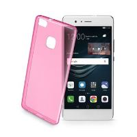 Barevné gelové pouzdro CELLULARLINE COLOR pro Huawei P9 Lite, růžové