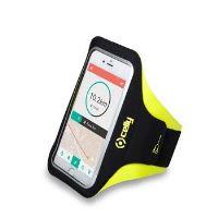 """Sportovní neoprénové pouzdro CELLY ARMBAND, velikost XL pro telefony do 5"""", žluté"""