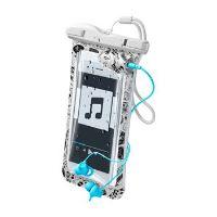 """Voděodolné univerzální pouzdro Cellularline VOYAGER MUSIC pro mobilní teleofny do 6,3"""" s 3,5 mm konektorem pro sluchátka"""