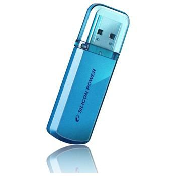 USB flash disk Silicon Power Helios 101, 16GB, USB 2.0, modrý