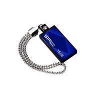USB flash disk Silicon Power Drive Touch 810, 16GB, USB 2.0, modrý