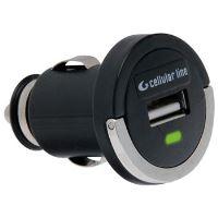 Mini autonabíječka CellularLine s USB výstupem, 1A