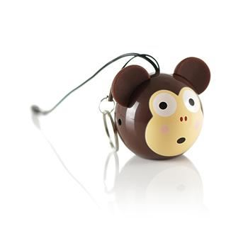 Reproduktor KITSOUND Mini Buddy Monkey, 3,5 mm jack