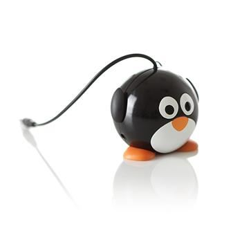 Reproduktor KITSOUND Mini Buddy Penguin, 3,5 mm jack
