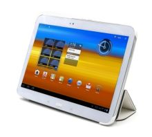 C-TECH PROTECT pouzdro pro Samsung Galaxy TAB 3 10.1, STC-03, bílé, wake/sleep funkce