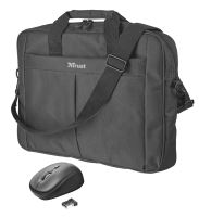"set TRUST Primo 16"" Bag with wireless mouse"