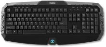 Klávesnice multimediální Zalman ZM-K300M, 20 hot keys, black, USB, ENG