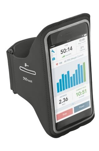 TRUST Bracus Arm Band for iPhone6/6S - black