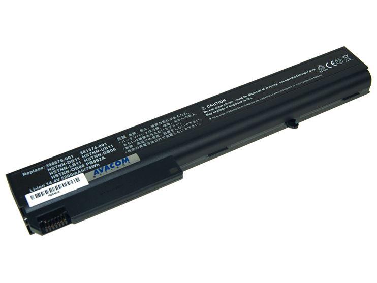 Baterie AVACOM NOHP-nc82-806 pro HP Business NC8200/8230 NX8200 series Li-Ion 14,8V 5200mAh/77Wh