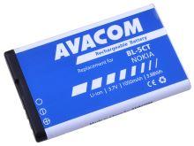 Baterie AVACOM GSNO-BL5CT-S1050A do mobilu Nokia 6303, 6730, C5, Li-Ion 3,7V 1050mAh