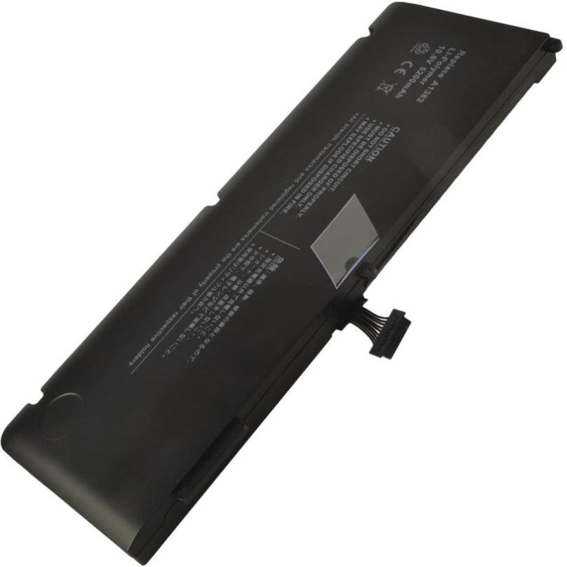 2-POWER Baterie 10,8V 5200mAh pro Apple MacBook Pro 15
