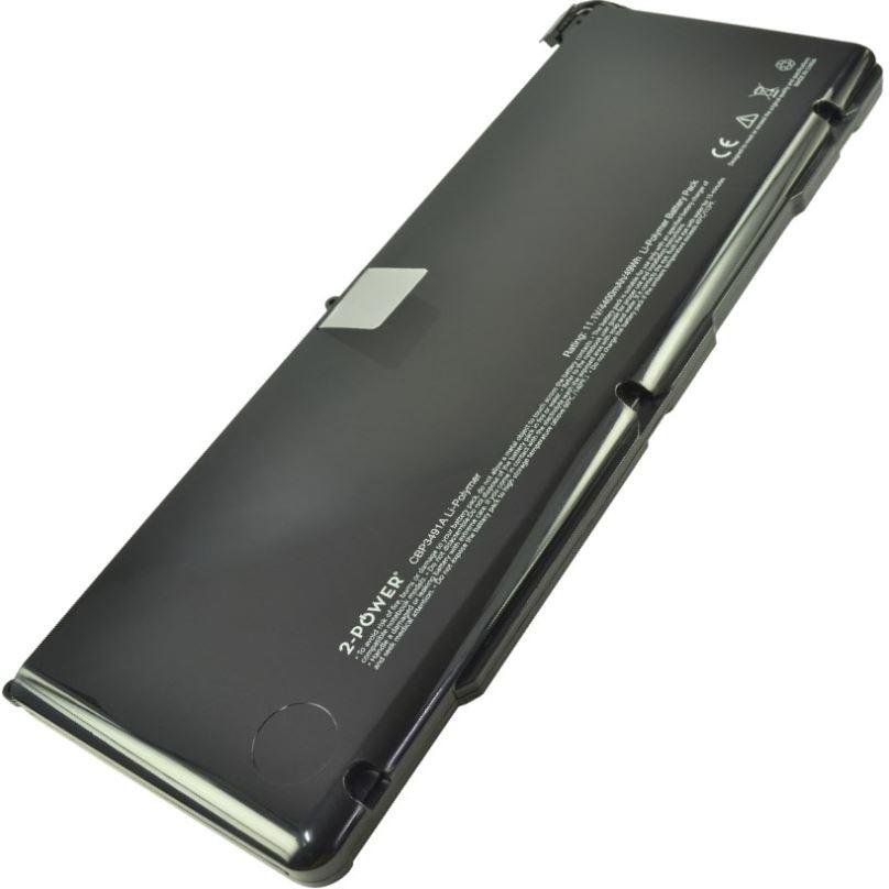 2-POWER Baterie 11,1V 4400mAh pro Apple MacBook Pro 17