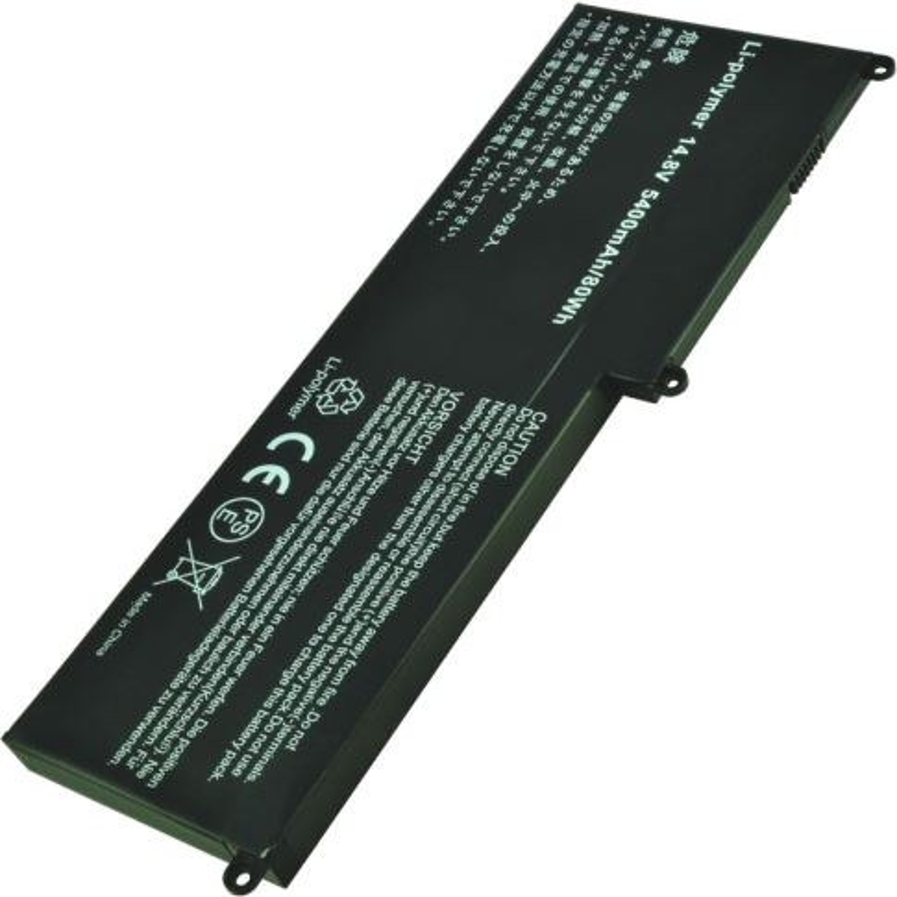 2-POWER Baterie 14,8V 5400mAh pro HP Envy 15T-3000, 15T-3200, 15-3000, 15-3200