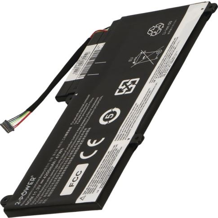 2-POWER Baterie 11,3V 4200mAh pro Lenovo ThinkPad Edge E450m, E450c, E455, E460, E465
