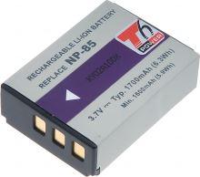 Baterie T6 power Fuji NP-85, 1700mAh, černá