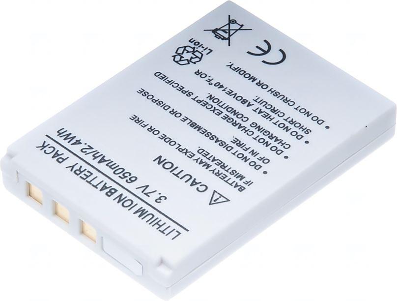 Baterie T6 power KonicaMinolta NP-900, Benq/ Rollei 2491-0015-00, 850mAh, šedá