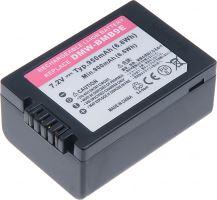 Baterie T6 power Panasonic DMW-BMB9E, 950mAh, černá