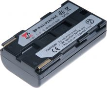 Baterie T6 power Canon BP-911, BP-914, BP-915, 2300mAh, černá