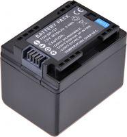 Baterie T6 power Canon BP-727, 2400mAh, 8,6Wh, černá