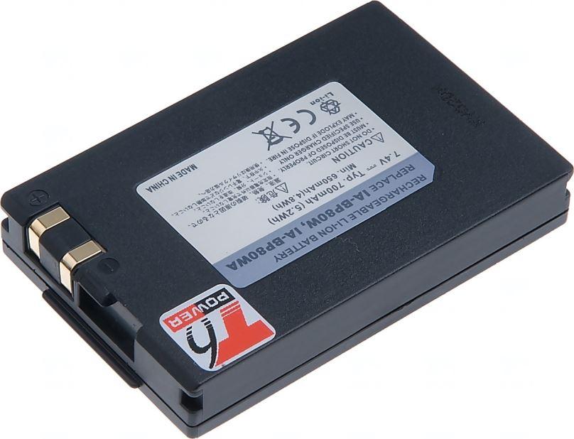 Baterie T6 power Samsung IA-BP80W, 700mAh, černá