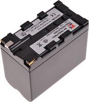 Baterie T6 power Sony NP-F930, NP-F950, NP-F960, NP-F730H, NP-F970, 7800mAh, šedá