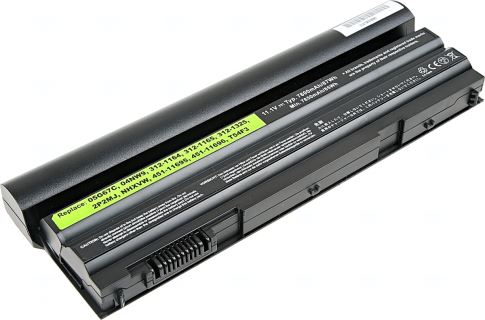 Baterie T6 power Dell Latitude E6420, E6430, E6520, E6530, E5420, E5430, E5520, 9cell, 7800mAh
