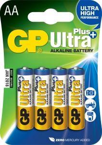 Alkalická baterie GP Ultra Plus, AA, tužka, 2ks