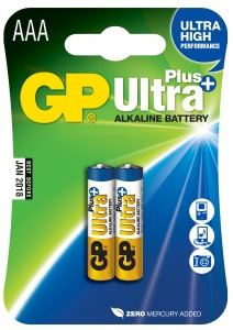 GP Ultra Plus 2x AAA