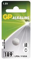 Alkalická baterie GP LR54 (189)-1ks