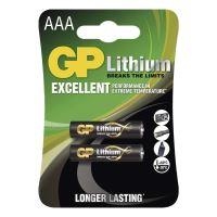 Lithiová baterie GP AAA - 2ks