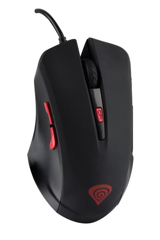 Herní optická myš Natec Genesis G22, 2400 DPI