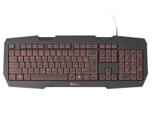 Herní klávesnice Genesis RX22 CZ/SK, podsvícení