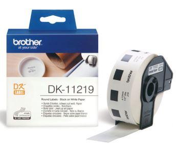 DK-11219 (papírové / kulaté, průměr 12 mm -1200ks)