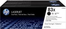 HP tisková kazeta černá velká, CF283XD - 2 pack