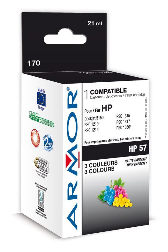 Armor ink-jet pro HP DJ 5550, 3barvy 17ml (C6657A)