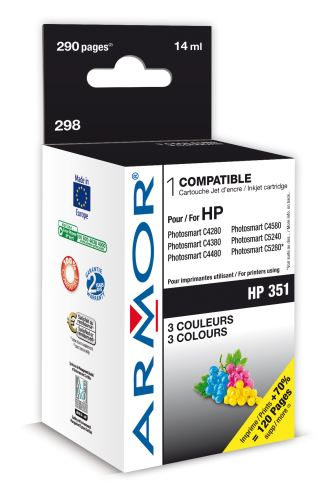 Armor ink-jet pro HP DJ D4260 9ml (CB337EE) Color