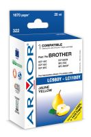 Armor ink-jet pro Brother DCP 145, (LC980/1100Y)