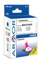Armor ink-jet pro Brother DCP J125,6ml(LC985M)M
