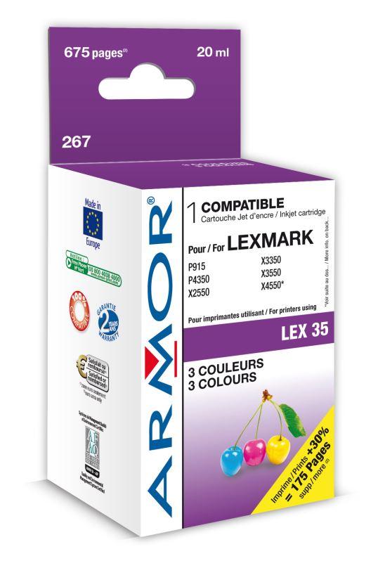 Armor ink-jet Lexmark P915/4350 color (18C0035)