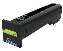 Lexmark CS820 modrá extra velká tonerová kazeta 22K