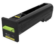 Lexmark CS820 žlutá extra velká tonerová kazeta 22K