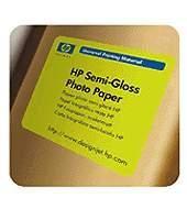 "HP Semi-Gloss Photo Paper - role 24"""