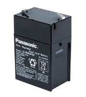 Panasonic olověná baterie LC-R064R5P 6V/4,5Ah
