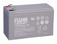 Fiamm olověná baterie 12FGHL34 12V/9Ah 10letá