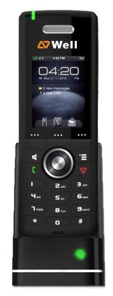 """WELL RTX8630 IP DECT ručka pro RTX8660,2"""" bar.LCD,8 prog.tl."""